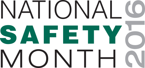 National Safety Month 2016 Safe4Life